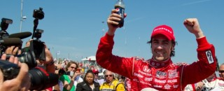 IndyCar Franchitti Opens Title Defense with IndyCar Win in St Pete