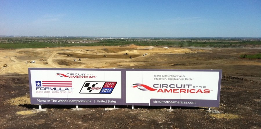 "USGP Austin Track Named ""Circuit of the Americas"""