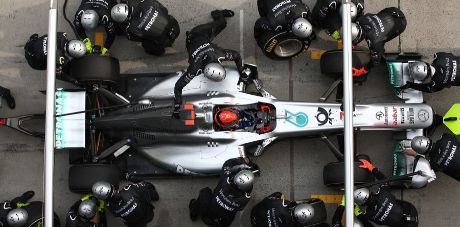 Mercedes has fastest pit crew in F1 - report