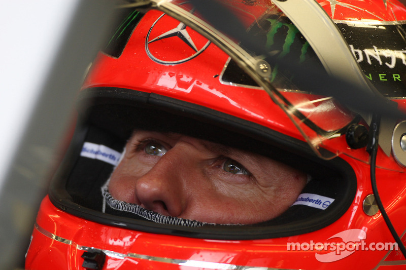 Ecclestone disappointed with Schumacher comeback