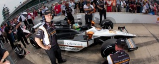 IndyCar Tagliani Nails Down His First Indy 500 Pole