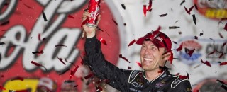 NASCAR Cup Harvick Hangs On To Take Charlotte Win