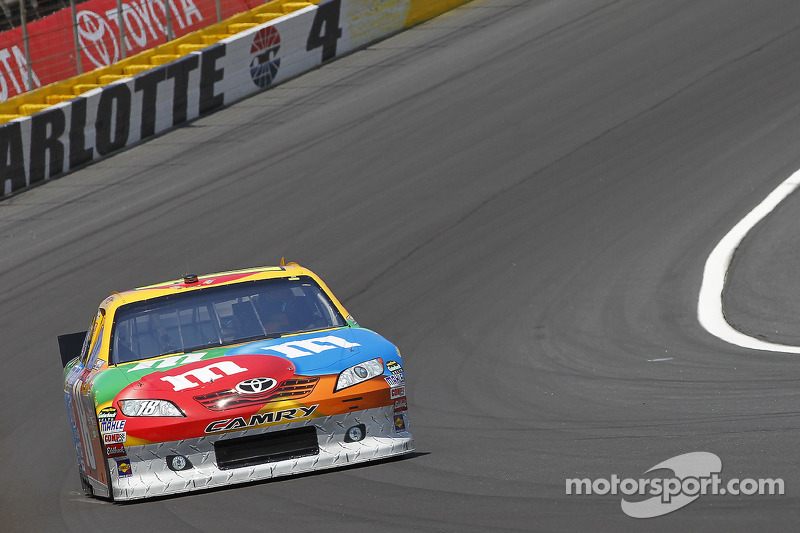 Kyle Busch Charlotte Race Report