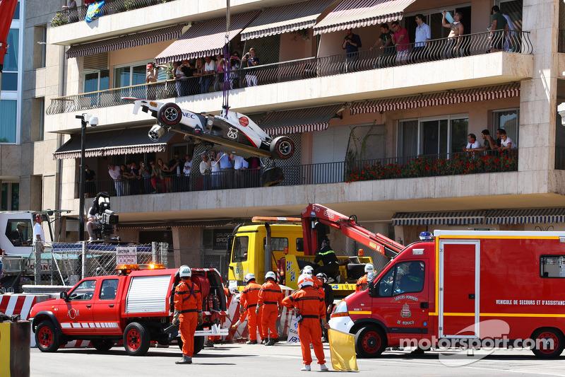 Monaco to tweak tunnel run-off for 2012