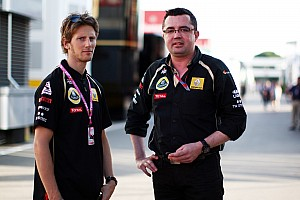Formula 1 Boullier denies Grosjean to replace Heidfeld