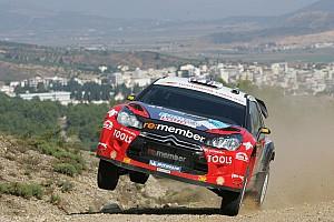 WRC Citroen Racing Tech Acropolis Rally Event Summary