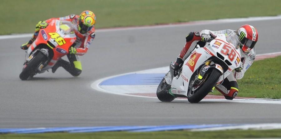 Simoncelli Fastest In Italian GP MotoGP Friday Practice