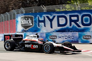 IndyCar Team Penske Toronto Friday Report