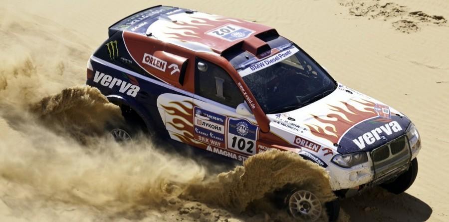 Leader Holowczyc Earns Dakar Silk Way Rally Stage 5 Win