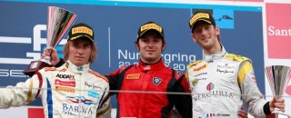 FIA F2 GP2 Nurburgring Feature Race Press Conference