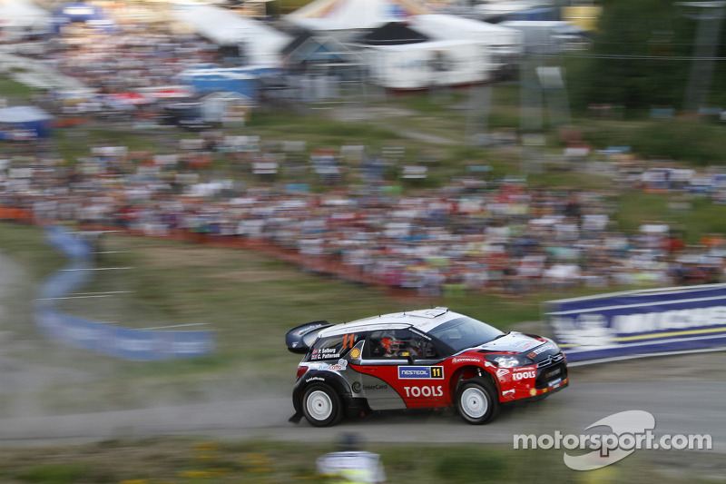 Petter Solberg Rally Finland Leg 2 Summary
