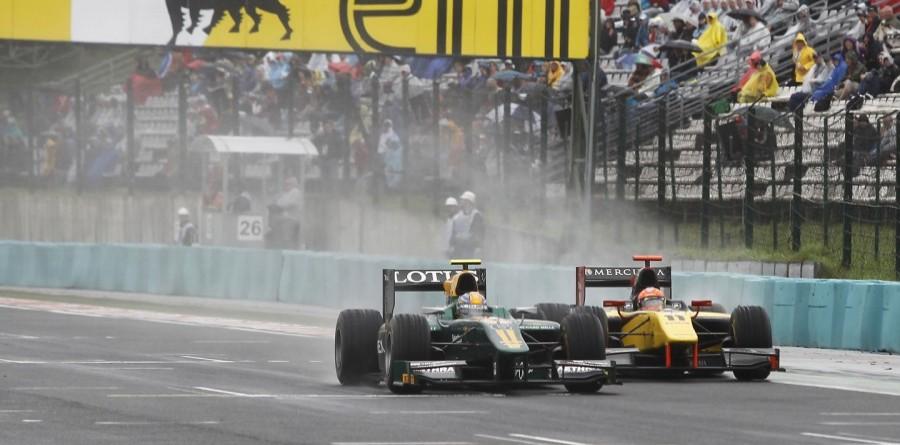 Lotus ART GP2 Series Budapest Race Event Summary
