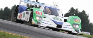ALMS Smith Puts Dyson Racing On ALMS Pole At Mid-Ohio
