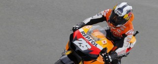 MotoGP Pedrosa sets hot laps in Czech GP Friday practices