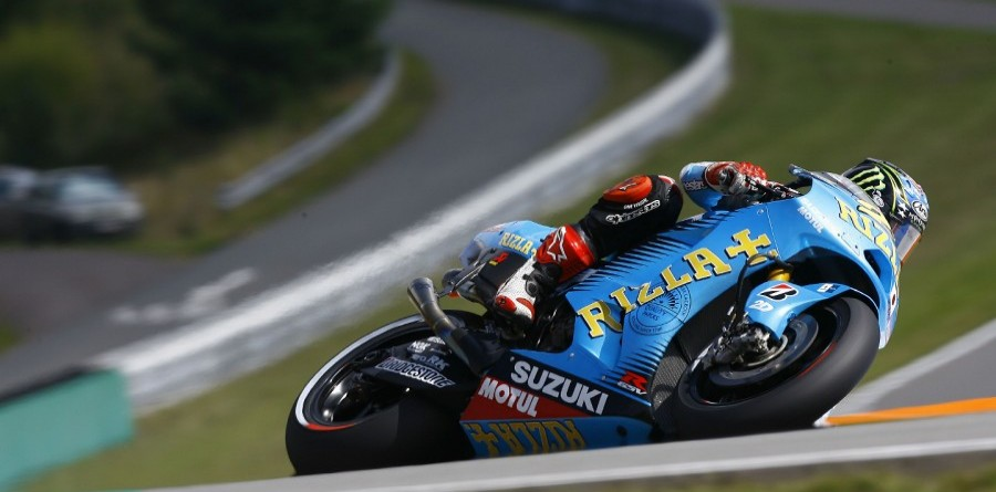 Hopkins crashes in Czech GP final practice