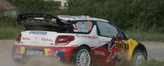 WRC Loeb leads Citroën 1-2 on Rally Deutschland first day