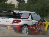 Loeb leads Citroën 1-2 on Rally Deutschland first day