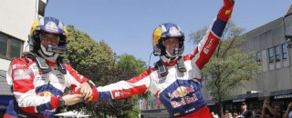 WRC Ogier victorious at Rally Deutschland