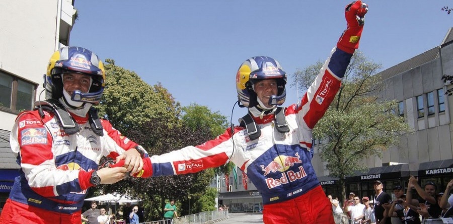 Ogier victorious at Rally Deutschland