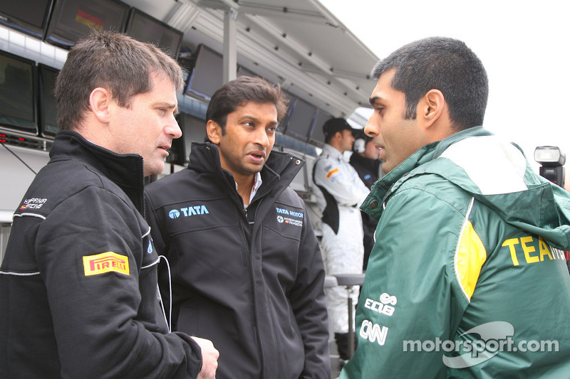 Karthikeyan set for HRT return in India