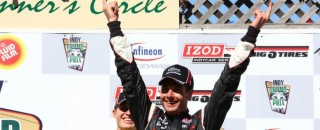 IndyCar Team Penske sweeps the podium at Sonoma
