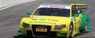 DTM Audi on chase for the lead at Brands Hatch