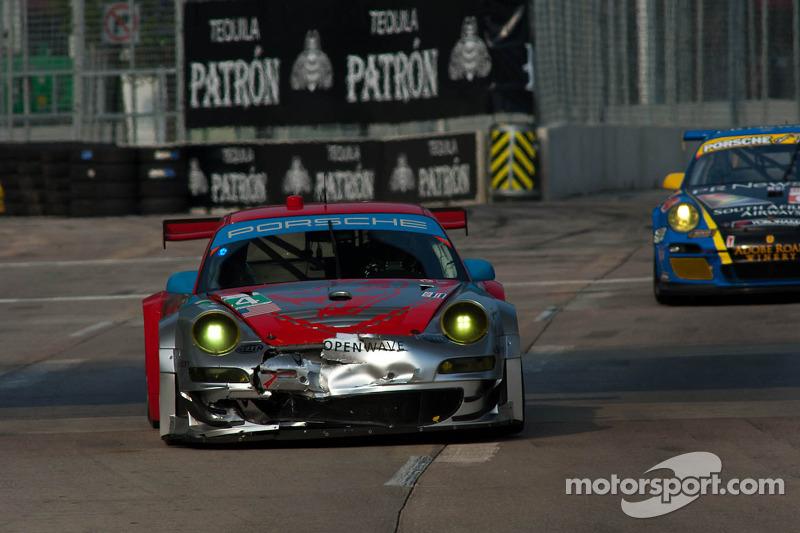 Flying Lizard Motorsports Baltimore race report