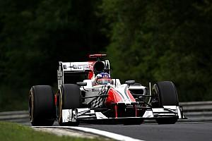 Formula 1 HRT preparing for challenging Italian GP at Monza