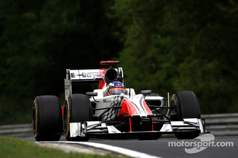 HRT preparing for challenging Italian GP at Monza