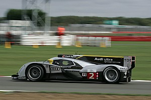 Le Mans Audi Silverstone qualifying report