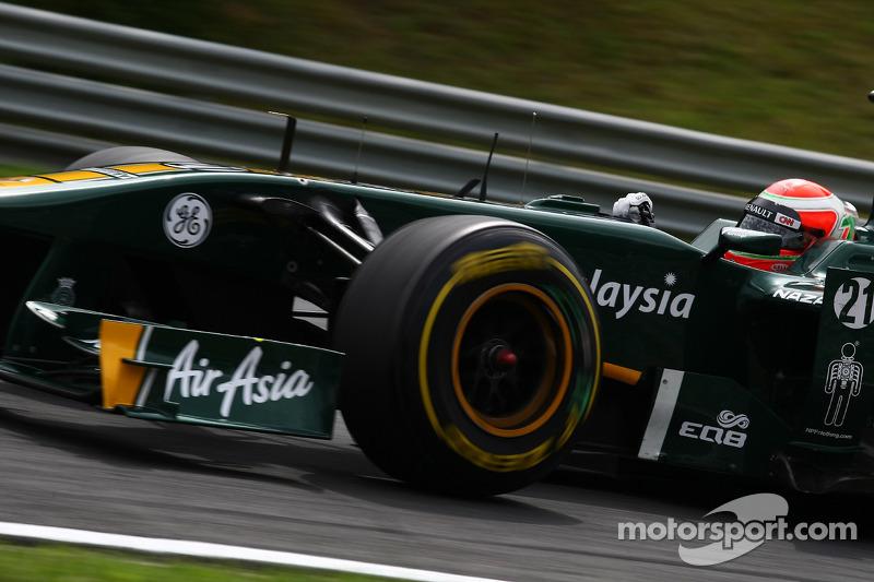 Team Lotus confirms Trulli for 2012