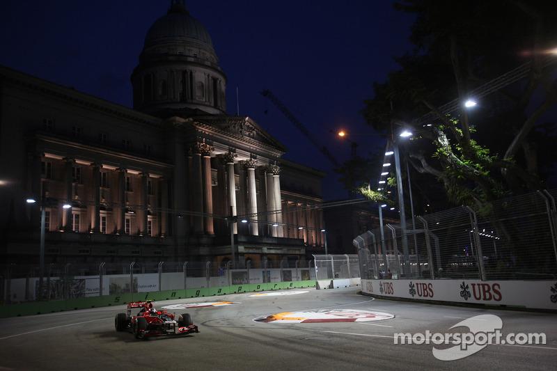 Marussia Virgin Singapore GP qualifying report