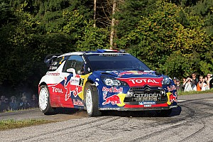 WRC Citroen Rallye de France leg 1 summary