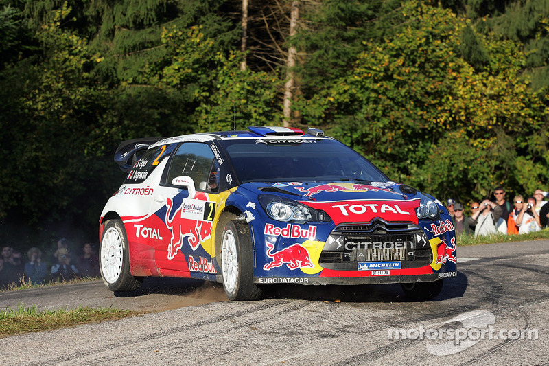 Citroen Rallye de France leg 1 summary