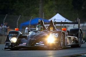 ALMS Level 5 Motorsports celebrates LMP2 pole at Petit Le Mans
