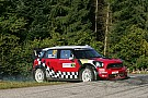 MINI WRT remains in hunt for Rallye de France win