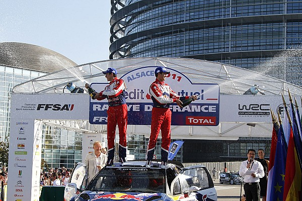 Rally de France post-event press conference