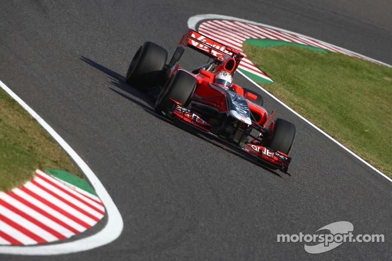 Marussia Virgin Japanese GP - Suzuka qualifying report