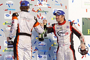 ALMS Chapman Ducote finishes on the podium at Road Atlanta