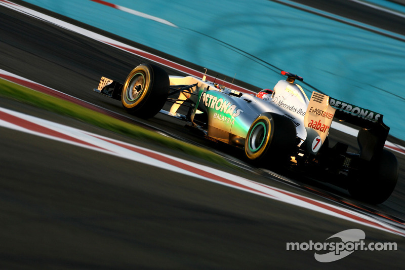 Mercedes Abu Dhabi GP qualifying report
