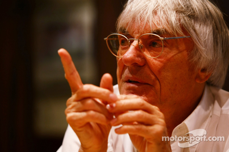 Ecclestone sure about Bahrain return, not Austin debut