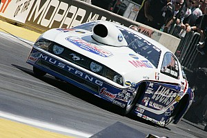 NHRA Larry Morgan Pomona Ii Saturday report
