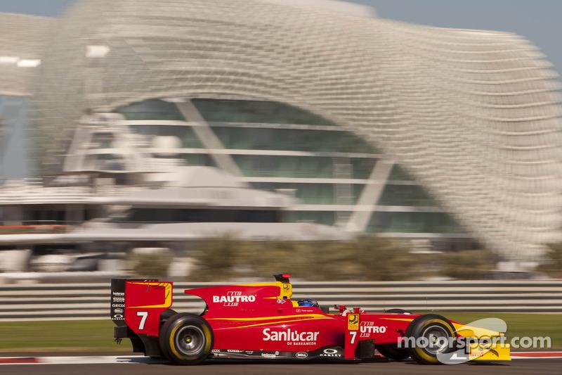 Racing Engineering Abu Dhabi race 2 report