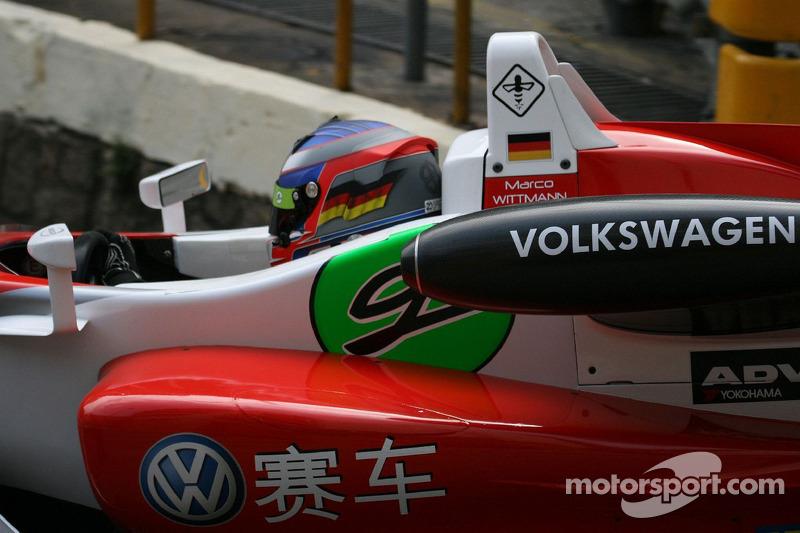 Wittmann inherits Macau GP provisional pole