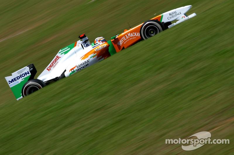 Force India Brazilian GP Friday practice report