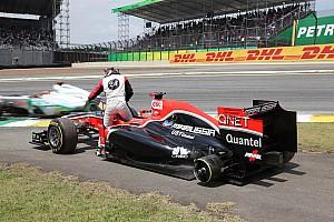 Formula 1 Glock critical after Virgin pit error