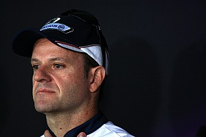 Formula 1 Barrichello still 'waiting' on news from Williams