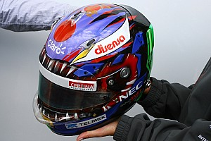 Charity success: 19,000 USD for Kamui Kobayashi's helmet