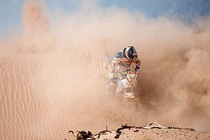 Dakar Chilean rider Lopez forced to withdraw due to injury on stage seven
