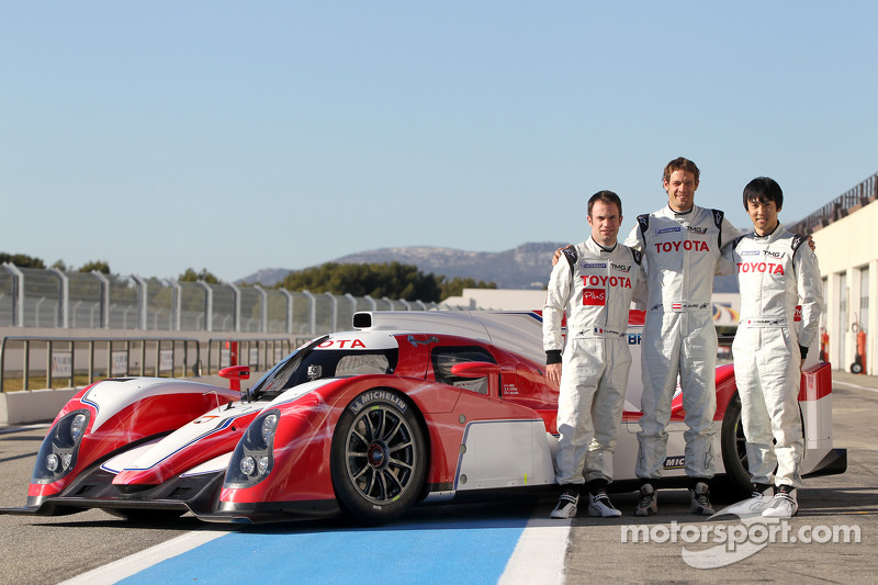 Toyota unveils photos of its Hybrid LMP1